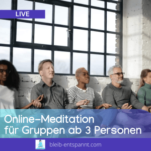 Meditation Gruppe