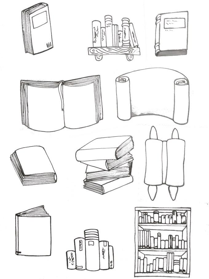 Doodles Buch. Doodles book