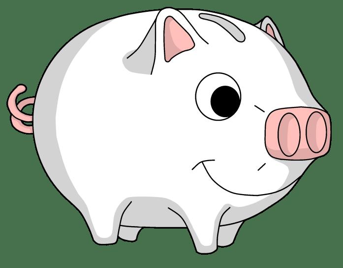 buntes Sparschwein