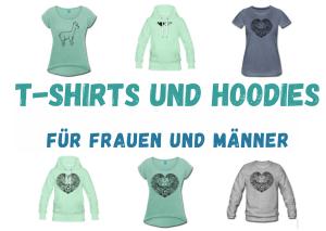 Bleib-gestreift Shop: T-Shirts und Hoodies für Frauen und Männer