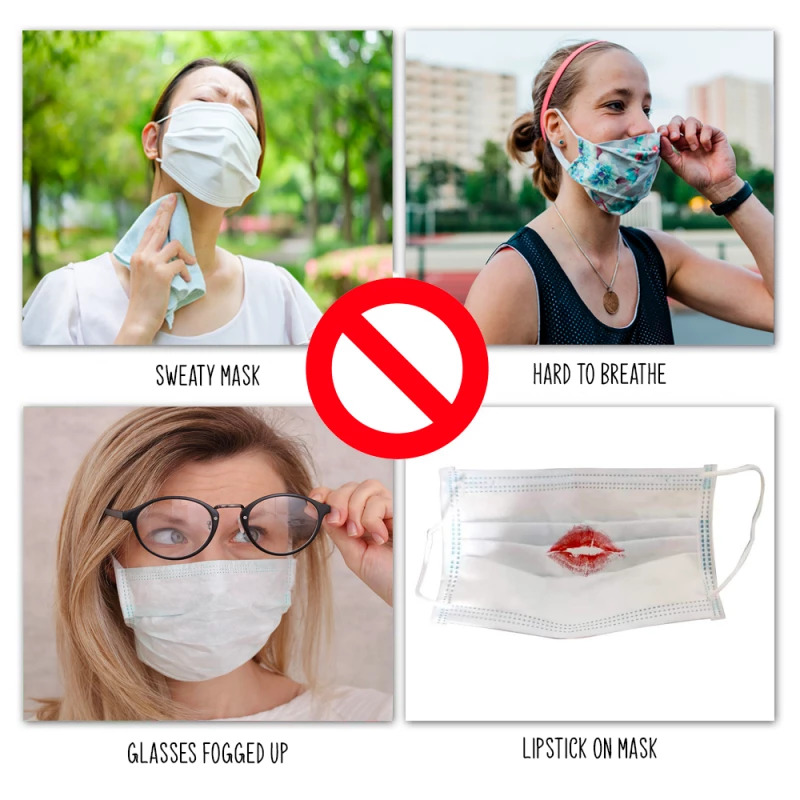3D Silicone Face Mask Bracket4