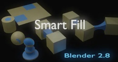 Smart Fill addon for Blender 2.8
