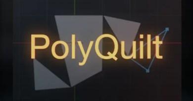 PolyQuilt Addon for Blender 2.8