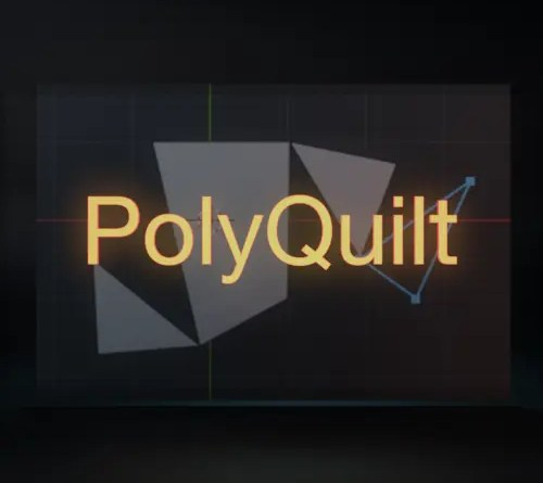 PolyQuilt Addon for Blender 2.8