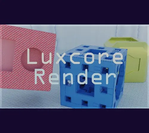 BlendLuxCore addon for Blender 2.8x