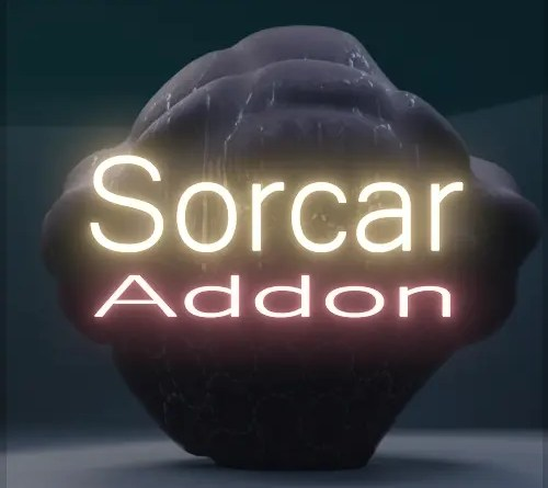 Sorcar Addon for Blender 2.8x