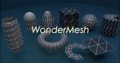 Wonder Mesh addon for Blender 2.8