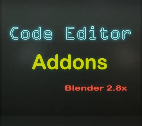 Blender addons for the Text Editor