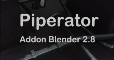 Piperator Addon for Blender 2.8