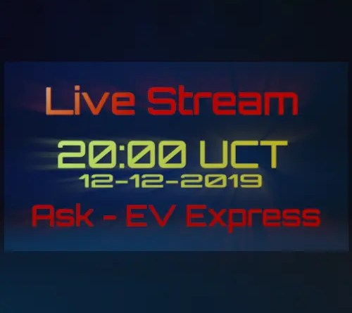 Cover Live Stream EV Express 12-12-2019 20:00 UCT