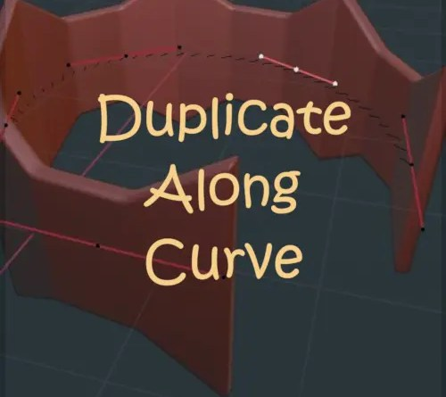 Duplicate Along Curve - Cover