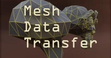 Mesh Data Transform Addon - Cover