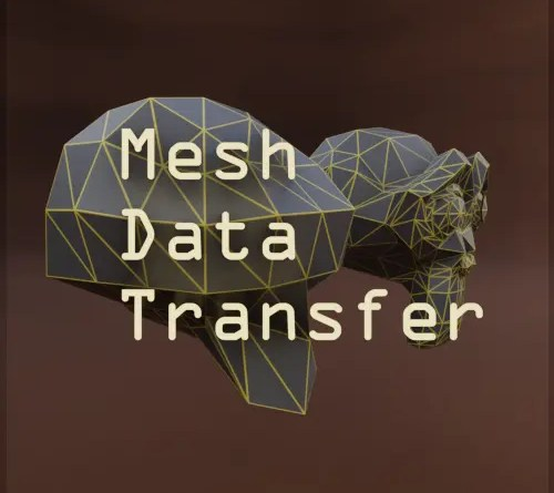 Mesh Data Transform Addon - Cover
