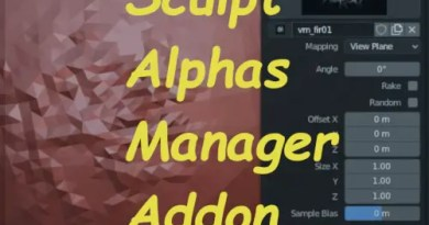 Sculpt Alphas Manager Addon, Cover
