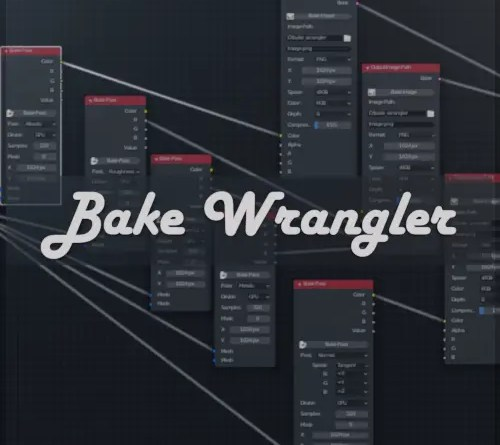 Article Bake Wrangler addon on Blender-addons.org