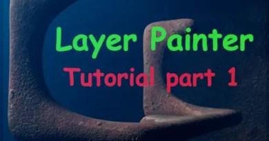 Layer Painter addon for Blender 2.8x cover