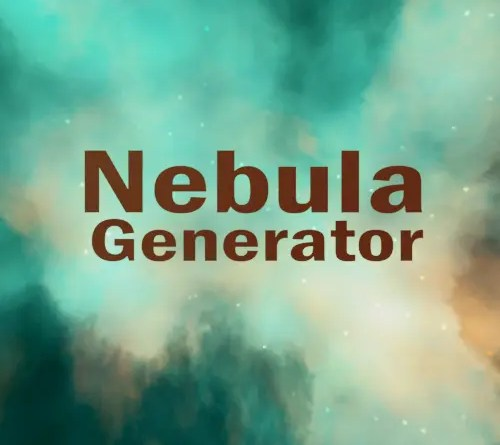 Nebula Generator by Mark Kingsnorth