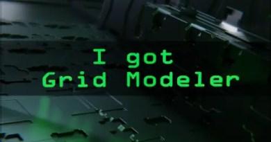 Grid Modeler Addon for Blender