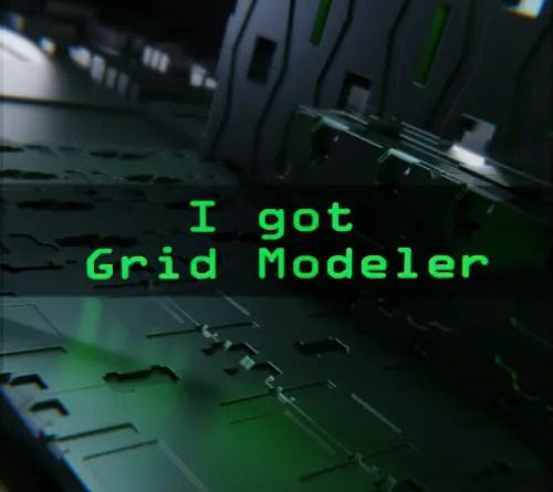 Grid Modeler Addon for Blender