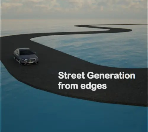 Street Generation From Edges - Cover Article