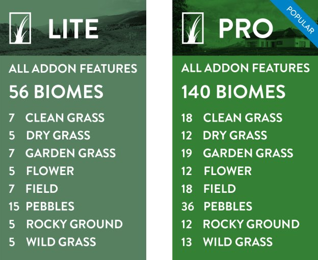 GrassBlade lite and Pro