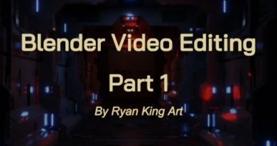 Cover Blender Video Editing - Part 1