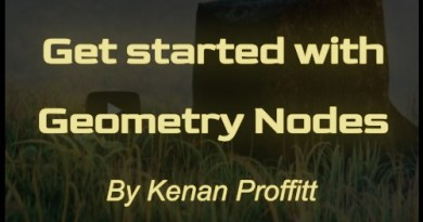 Cover Get Started with Geometry Nodes