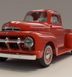 1951 ford f1 pickup truck [ 1920 x 1080 Pixel ]