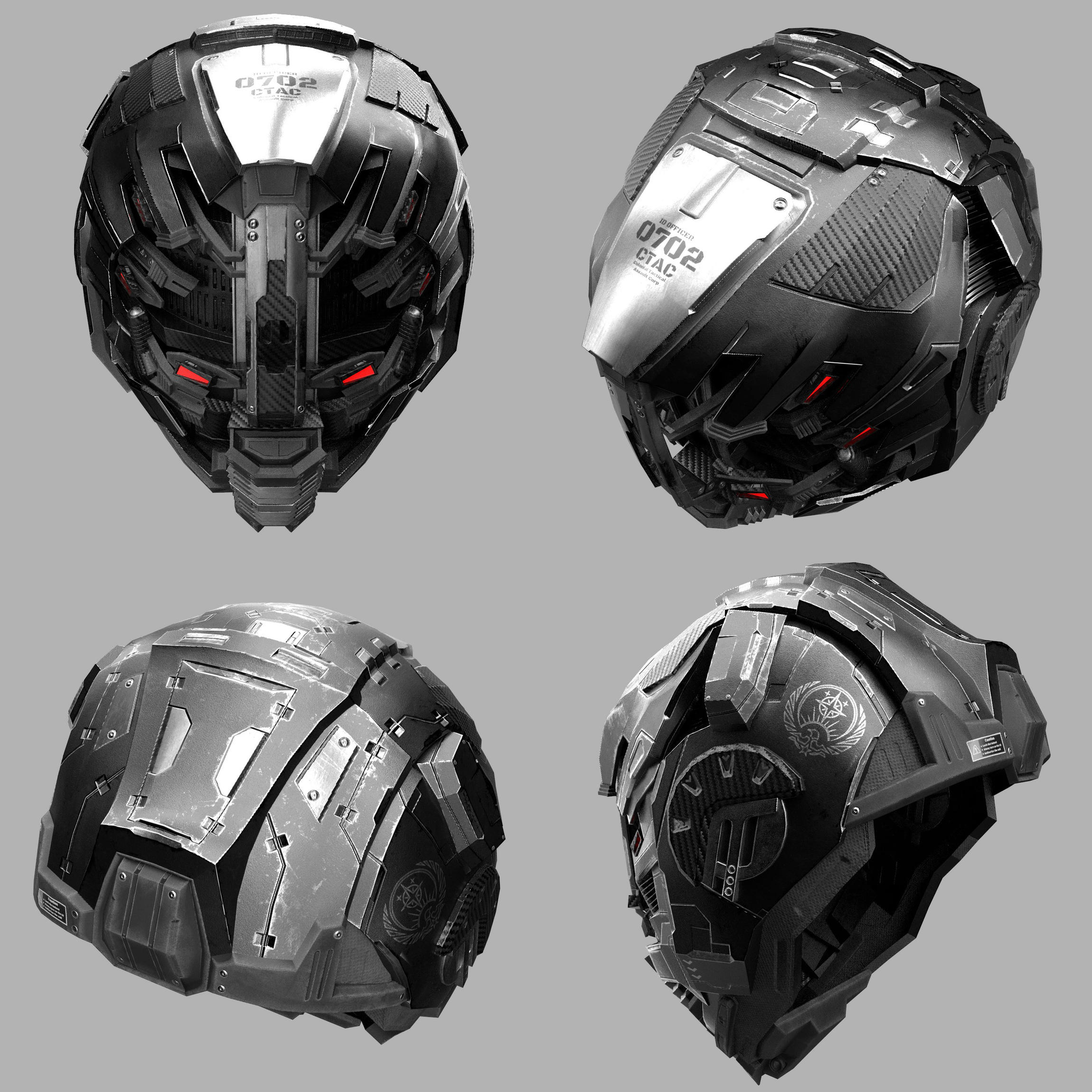 Altered Carbon Ctac Helmet Cycles Eevee Finished