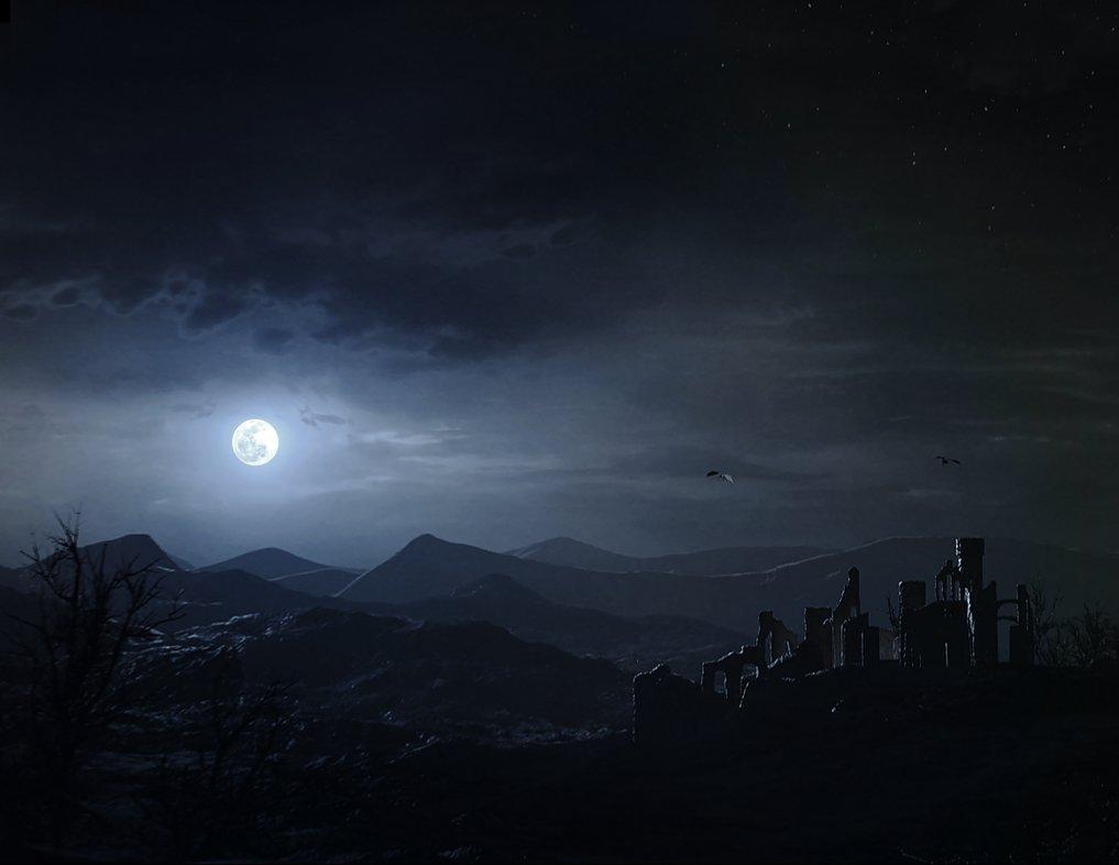 creating a night sky