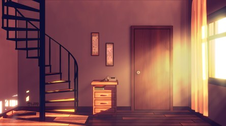 Anime Style Background Spiral Staircase Finished Projects Blender Artists Community