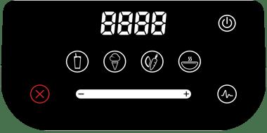 Blendtec designer 625 interface