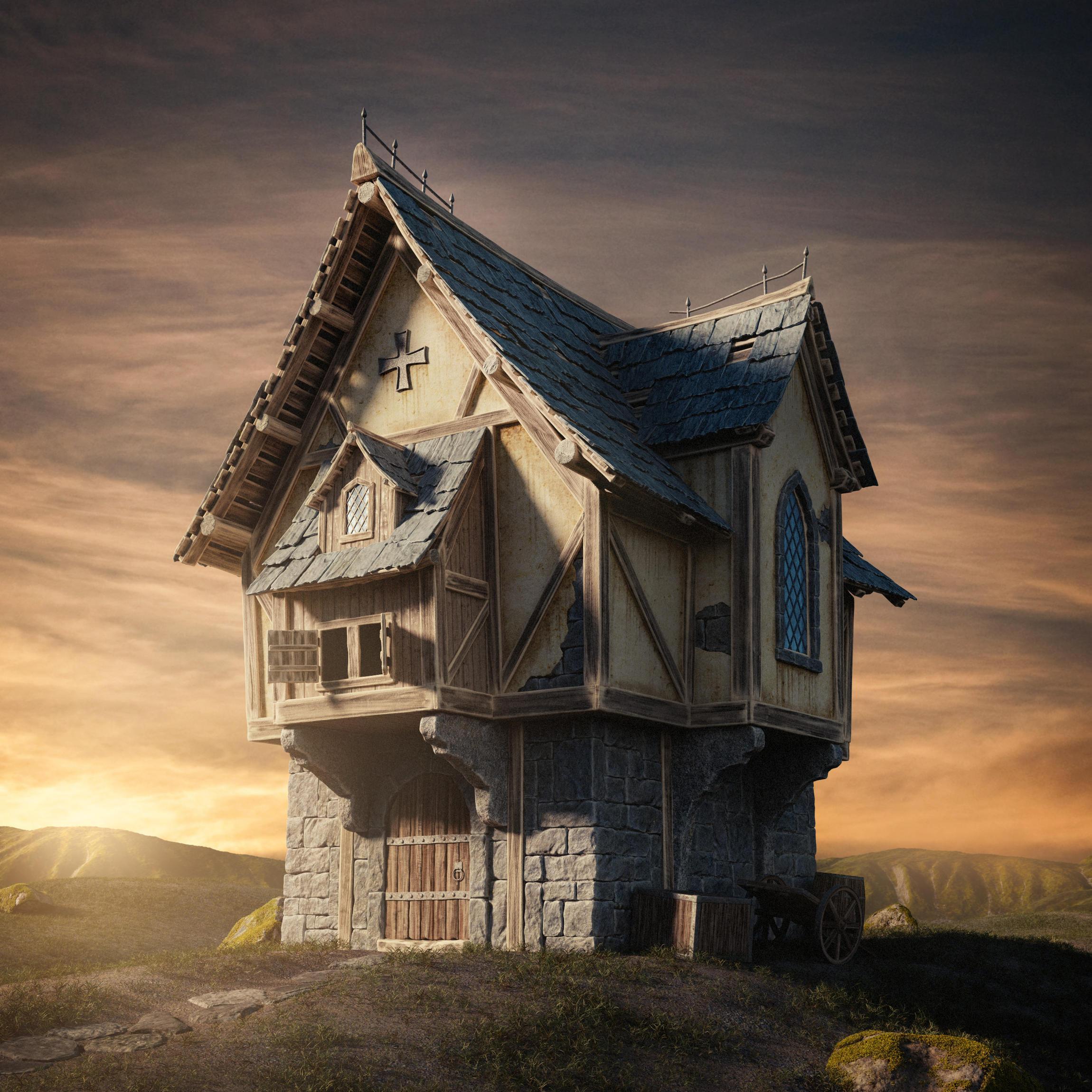 Fantasy House By Glen94  Blendernation