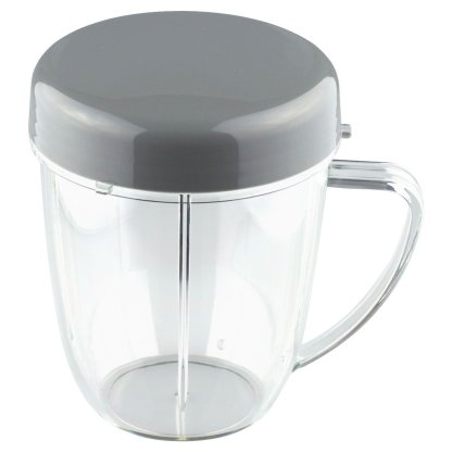 NutriBullet 18 oz Handled Short Cup with Stay Fresh Lid