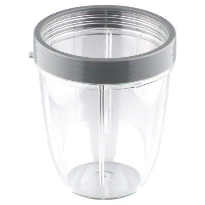NutriBullet 18 oz Short Cup with Handled Lip Ring