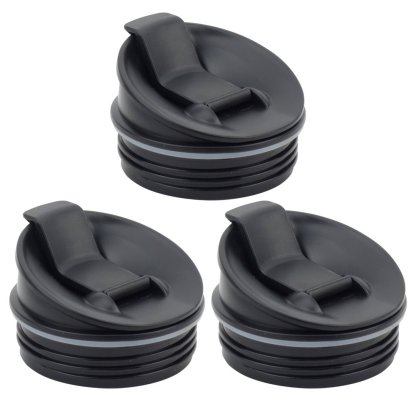 3 Pack Nutri Ninja Sip & Seal Lid for BL660 BL660W BL740 BL810 BL820 BL830 Model 356KKU800
