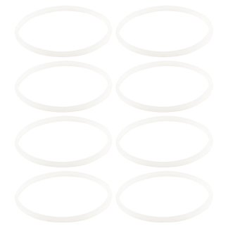 8 Pack White Gaskets Rubber Sealing O-Ring Replacement Part for Nutri Ninja Blenders BL660 BL663 BL663CO BL665Q BL740 BL770 BL771 BL773CO BL810C BL810Q BL820 BL830