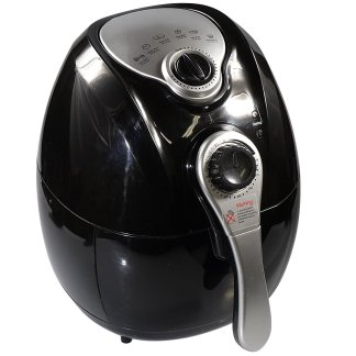 Felji 1300W Air Fryer Black with Rapid Air Technology Low Fat Fryer Multi Functional Control
