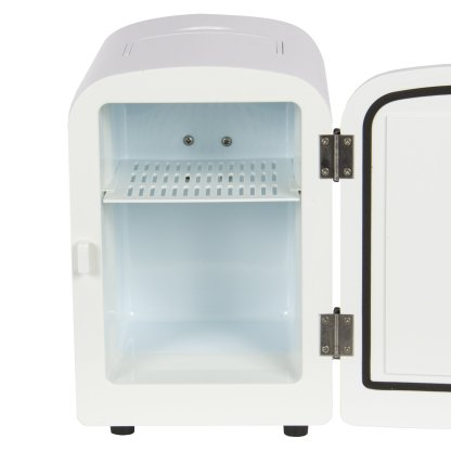 Portable Mini Fridge Cooler and Warmer 4L AC & DC White