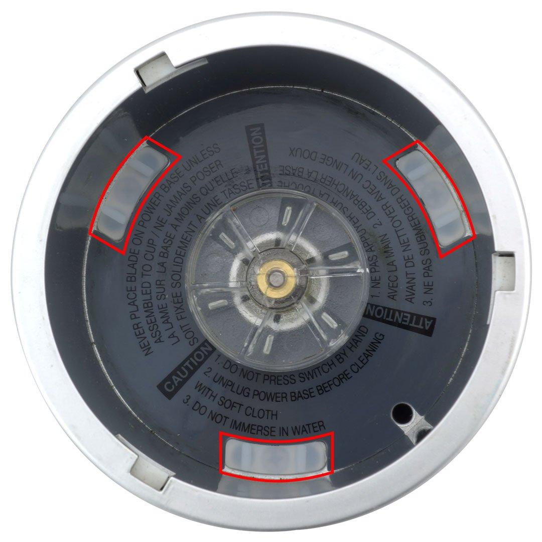 12 Pack Rubber Bushings Shock Pads NutriBullet 600W 900W NB-101B NB-101S Blender