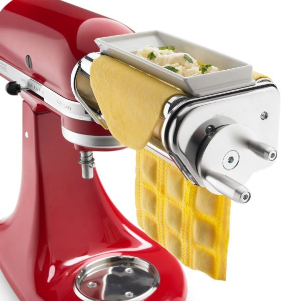 2 Pack KRAV Ravioli Maker and Cutter Attachment for KitchenAid Stand Mixers