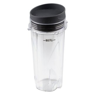 Nutri Ninja 16oz Cup with Lid Model 303KKU 305KKU for BL660 BL663 BL663CO BL665Q BL740 BL780 BL810 BL820 BL830