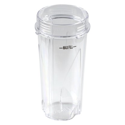 3 Nutri Ninja 16 oz Cups with To-Go Lids Replacement Model 303KKU for BL660 BL663 BL663CO BL665Q BL740 BL780 BL810 BL820 BL830
