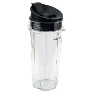 Nutri Ninja 16 oz Cup with Sip & Seal Lid for BL660 BL660W BL740 BL810 BL820 BL830 Model 303KKU 356KKU800