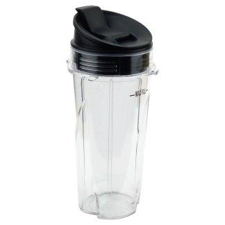 Nutri Ninja 16 oz Cup with Sip & Seal Lid for BL660 BL660W BL740 BL810 BL820 BL830 Model 303KKU 356KKU800