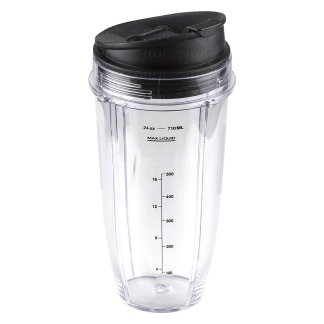 Nutri Ninja 24 oz Cup with Sip & Seal Lid Replacement Model 483KKU486 408KKU641