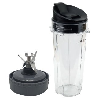 Nutri Ninja Extractor Blade and 16oz Cup with Sip & Seal Lid Model 303KKU 356KKU800 307KKU for BL660 BL663 BL663CO BL665Q BL740 BL780 BL810 BL820 BL830