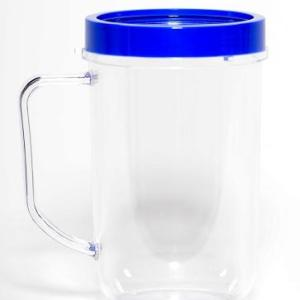 Blue Party Cup Mug Replacement Part Compatible with Magic Bullet 250W MB1001