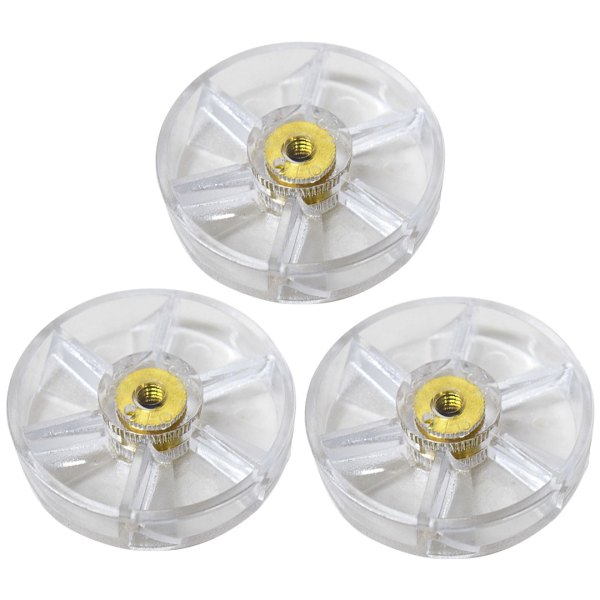 3 Pack Motor Gears Replacement Part Compatible with NutriBullet 600W 900W Blenders NB-101B NB-101S NB-201