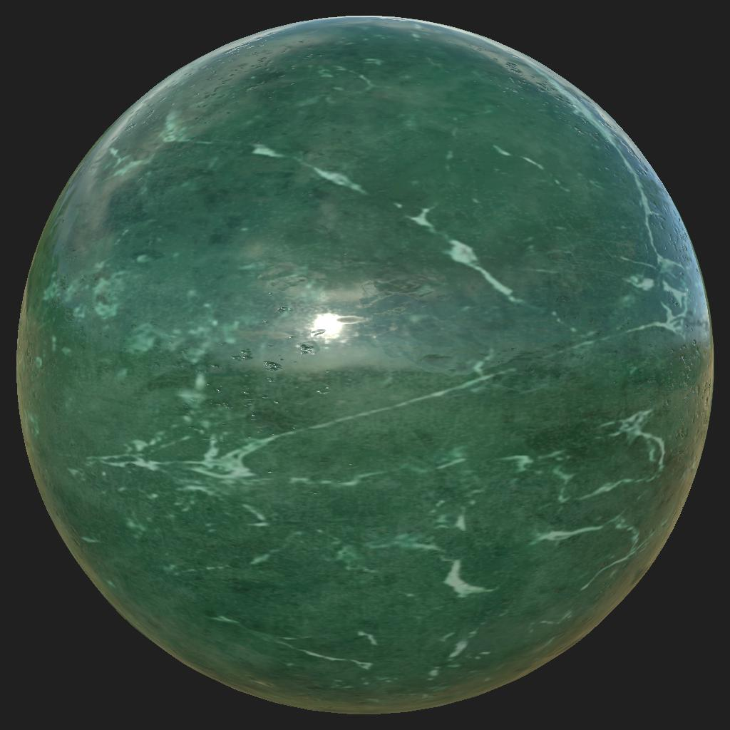 marble_Green_preview_sphere